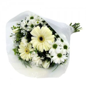 White Mixed Bunch Image